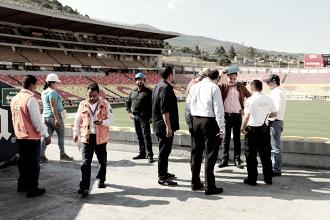 Estadio Morelos, sin daños tras el sismo