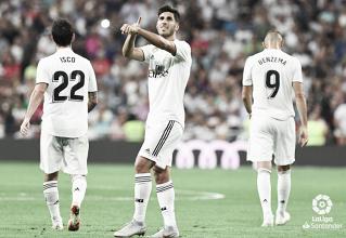 Asensio le da la victoria al Madrid con suspense arbitral