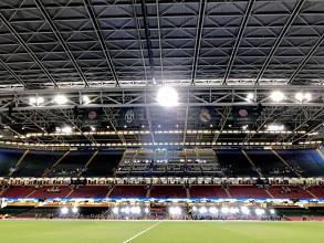 UEFA Champions League, La Finale - La vigilia a tre ore dal fischio d'inizio, brilla il Millennium Stadium