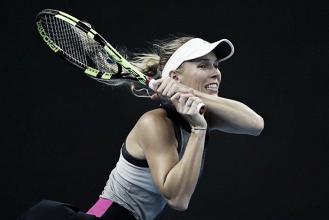 WTA Hong Kong: Caroline Wozniacki steers to comfortable victory over Eugenie Bouchard