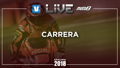 Resumen carrera GP de Catalunya 2018 de Moto2