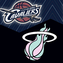 Cavs y Heat ganaron sus respectivos partidos