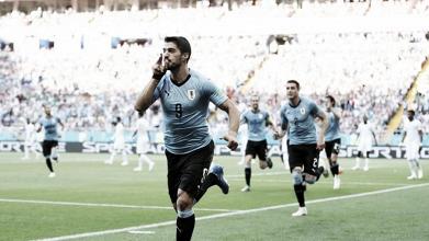 Suárez desencanta, Uruguai vence Arábia Saudita e carimba vaga nas oitavas da Copa