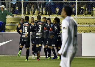 Liga no pudo ante Bolívar en La Paz