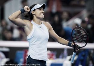 WTA Beijing: Unstoppable Caroline Garcia overcomes Simona Halep to clinch title