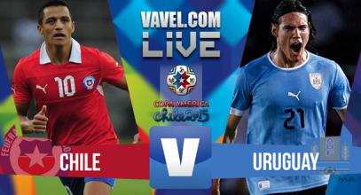 diretta live Cile - Uruguay