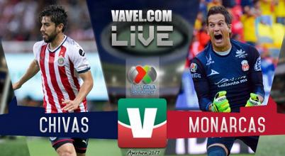 Resultado y goles de Chivas vs Monarcas Morelia en Liga MX (1-2)