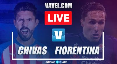 Goals and Higlights: Chivas 1-2 Fiorentina, ICC Game 2019