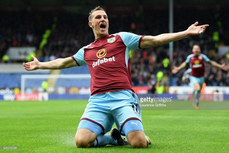 Wonderful Wood pleased with strikers instincts as he wins Burnley valuable points