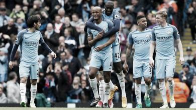 El Manchester City destroza al Crystal Palace con una manita