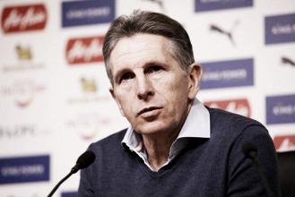 Treinador do Leicester, Claude Puel defende VAR após primeiro gol validado na Inglaterra
