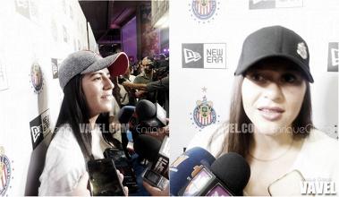 Pulido y Palafox entusiasmadas por el buen paso de Chivas