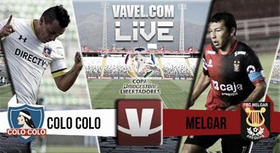 Resultado Colo Colo - Melgar en Copa Libertadores 2016 (1-0)