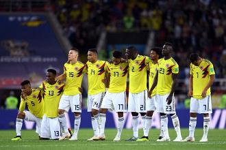 Colombia, questione di centimetri | www.twitter.com (@FCFSeleccionCol)
