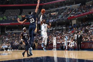 NBA - Memphis supera le torri gemelle di New Orleans, Portland travolge Phoenix