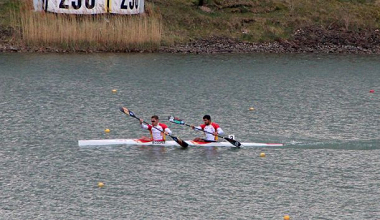 Marcus Cooper y Diego Cosgaya, medalla de plata en Milán