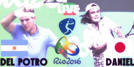 Rio 2016, tennis maschile - Del Potro soffre un set, ma poi domina Daniel: 2-1 e quarti raggiunti