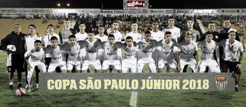 Resultado Santos x Internacional pela Copa SP de Futebol Júnior 2018 (0-4)