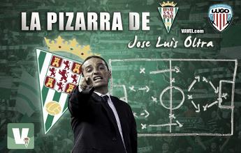 La pizarra de Oltra: Córdoba CF - CD Lugo, un empate a base de corazón