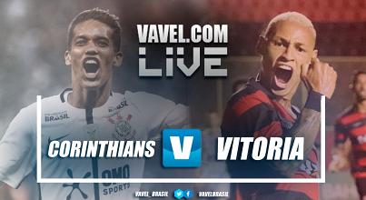 Resultado Corinthians x Vitória pelas oitavas de final da Copa do Brasil (3-1)