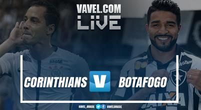 Resultado Corinthians x Botafogo pelo Campeonato Brasileiro (2-0)