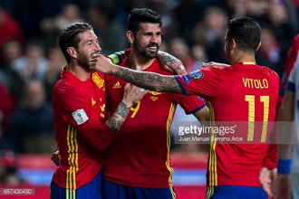 Spain 4-1 Israel: Silva sparkles as Lopetegui's men stay top of Group G