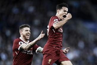 Coutinho brilha, Vardy perde pênalti e Liverpool bate Leicester
