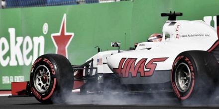 Romain Grosjean, resentido con los problemas de frenos en su Haas