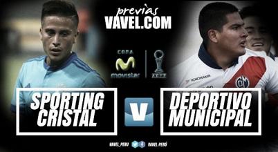 Previa Sporting Cristal -Deportivo Municipal: La 'celeste' quiere superar a la 'academia'