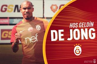 De Jong al Galatasaray, è ufficiale