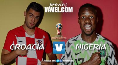 Previa Croacia vs Nigeria:a romper fuegos en el grupo D