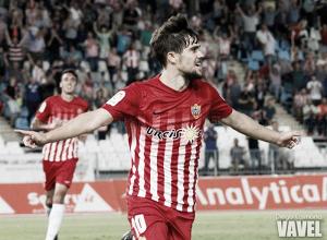 El Almería se impone al Sevilla Atlético al son de Pozo