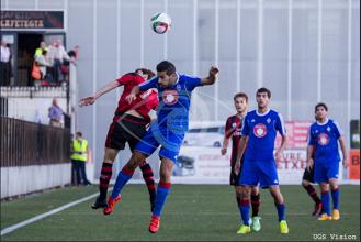 El Amorebieta salva un punto en Gobela gracias a un gol en propia puerta
