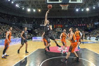 Valencia Basket no falla y ya es segundo matemáticamente