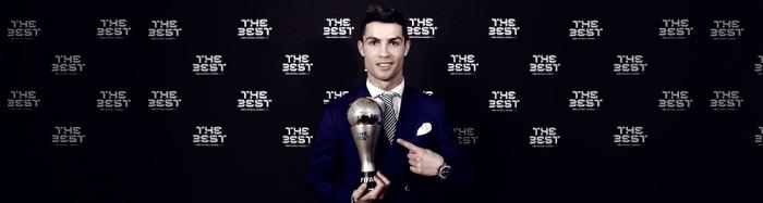 Cristiano Ronaldo recibe el premio The Best por segunda vez