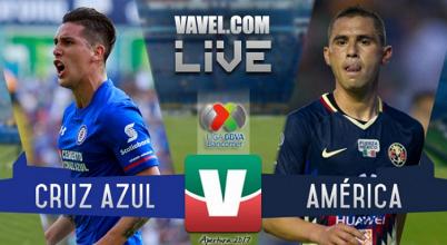 Resultado y goles del Cruz Azul 1-3 América de la Liga MX 2017