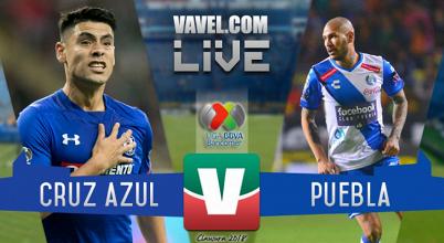 Resultado y goles del partido Cruz Azul 1-1 Puebla en Liga MX 2018
