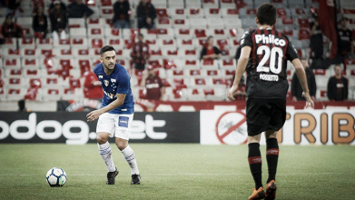 Cruzeiro vira contra Atlético-PR fora de casa e sai em vantagem na Copa do Brasil