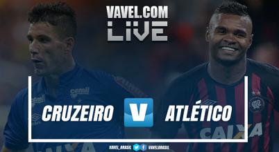 Resultado Cruzeiro x Atlético-PR nas oitavas de final da Copa do Brasil (1-1)