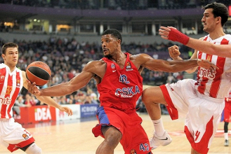 Turkish Airlines EuroLeague - Il CSKA passeggia a Belgrado: Stella Rossa battuta 85-59