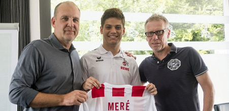 Jorge Meré becomes the latest new arrival at Köln