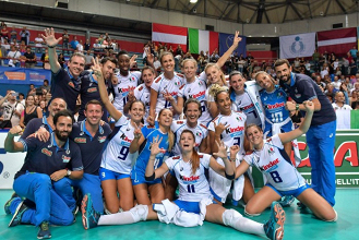 Volley F - L'Italia ha staccato il pass per gli Europei 2017 in Azerbaigian e Georgia