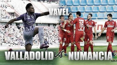 Previa Real Valladolid - CD Numancia: el último tren pasa por Zorrilla