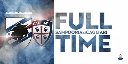 Serie A- Torna a vincere la Sampdoria. Cagliari sconfitto 1-0