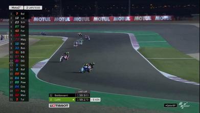 Moto2 Gp Qatar- Baldassarri c'è e vince la prima gara