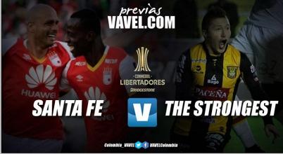 Santa Fe - The Strongest: Los equipos de altura se juegan la permanencia en Libertadores