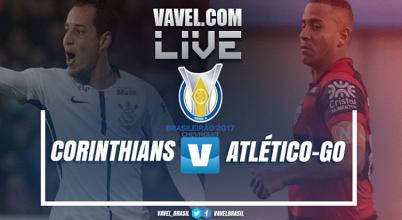 Resultado Corinthians x Atlético-GO pelo Campeonato Brasileiro 2017 (0-1)