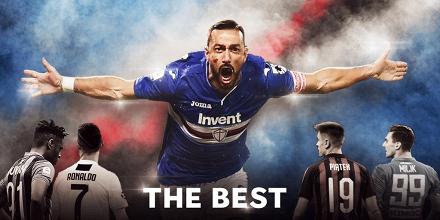 Serie A - La Sampdoria vede sfumare l'Europa, ma si consola con Quagliarella