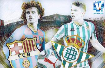 Resumen Barcelona vs Real Betis (5-2)