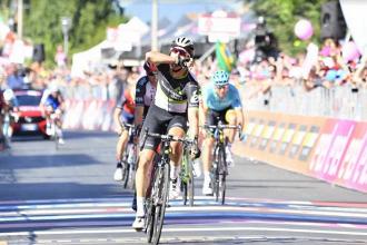 Giro d'Italia 2017, 11° tappa: vince uno strepitoso Fraile, Dumoulin in rosa, bene Nibali